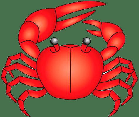 Ilustración de cangrejo