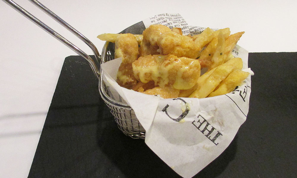 Terranova - Receta de fish and chips