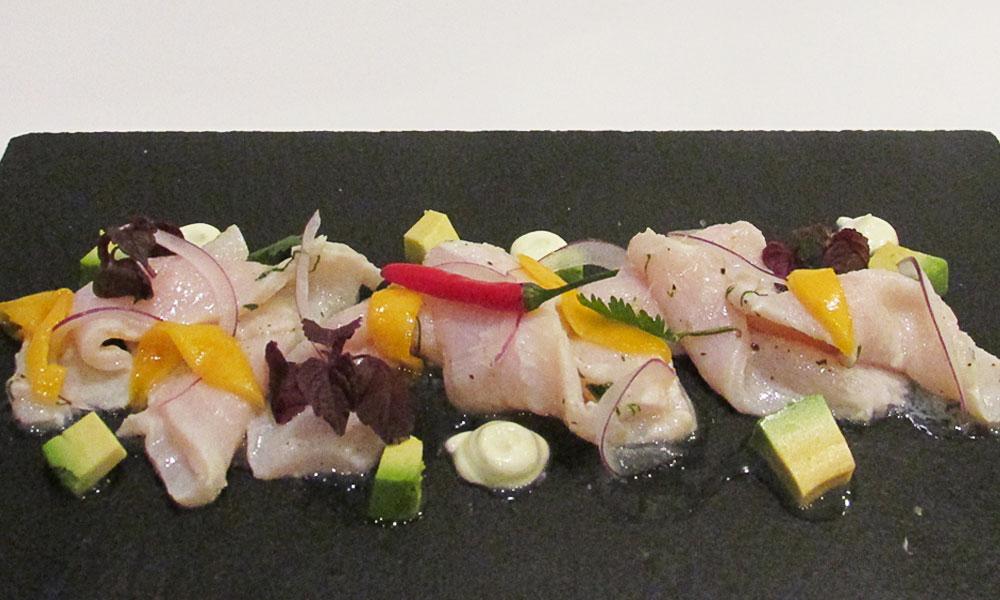 Terranova - Receta de ceviche de pez espada