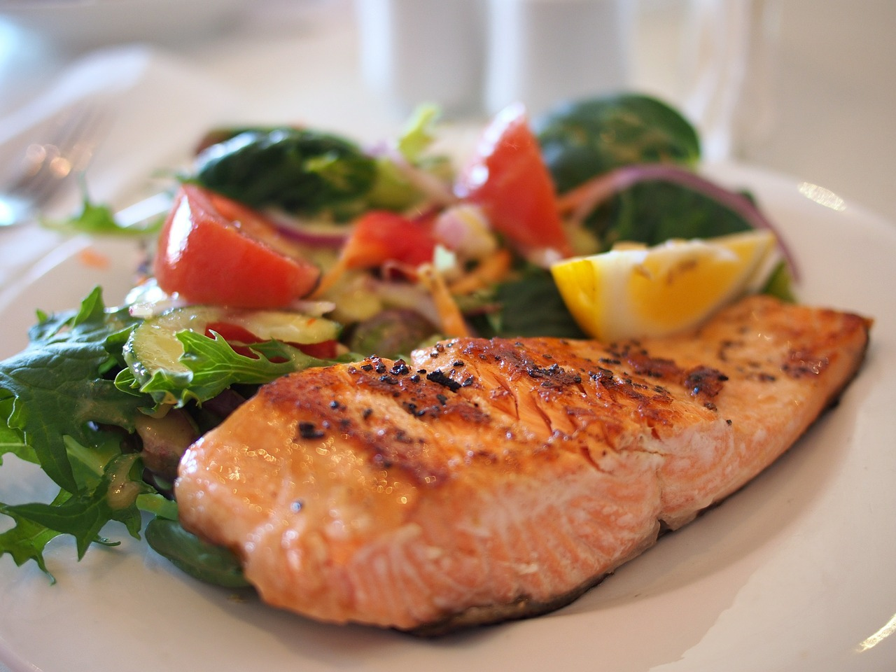 Los beneficios del salmón