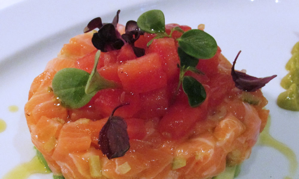 Terranova recetas Tartare de salmón con aguacate