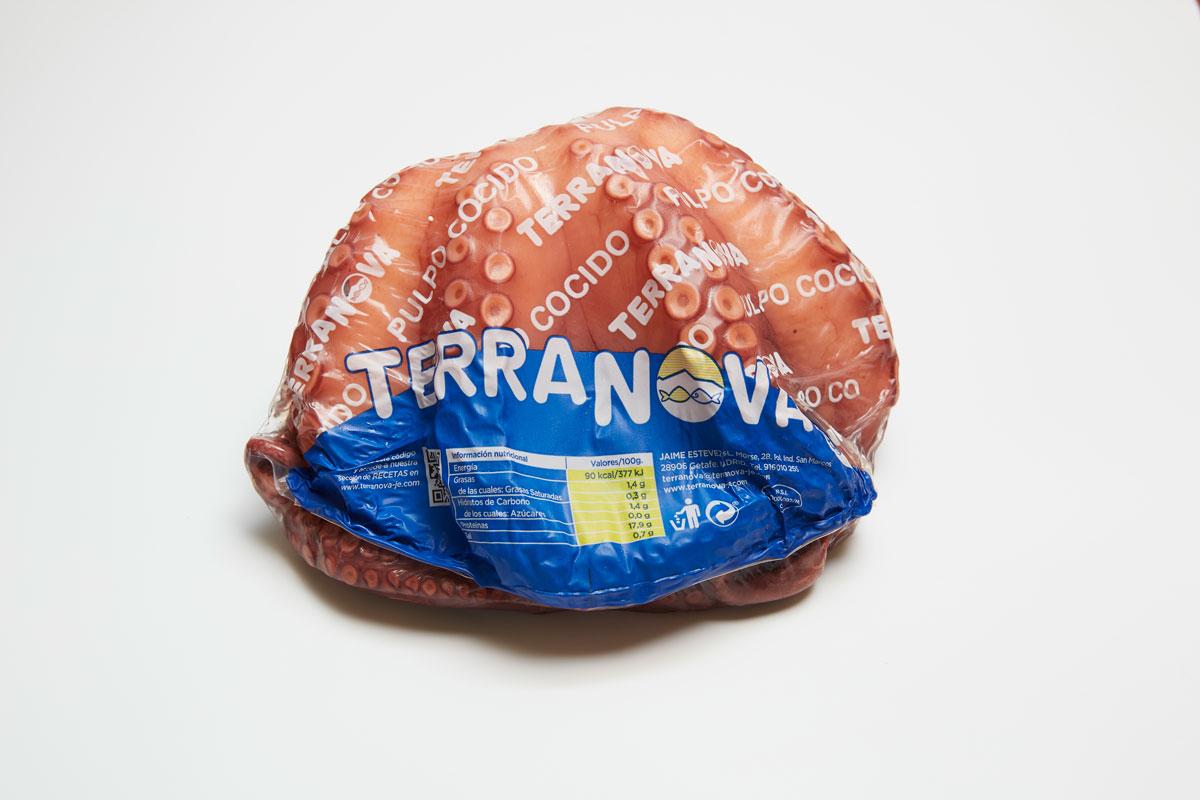 Terranova - Envase de pulpo cocido