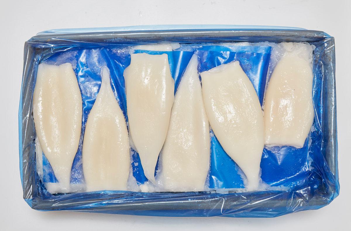 Terranova - Emballage de calamars