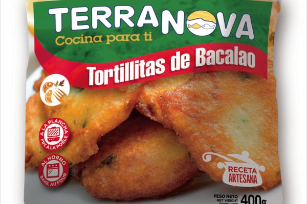 Terranova - Envase de tortitas de bacalao