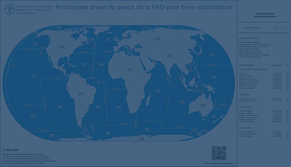 ¿Qué son las zonas FAO?